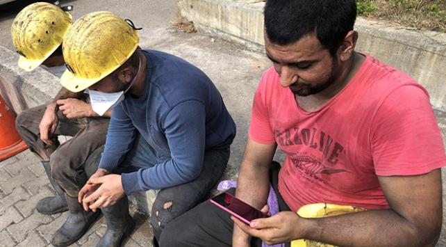 Zonguldaklı madencilerin doğalgaz sevinci