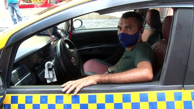 Taksi şoförü hayat kurtardı