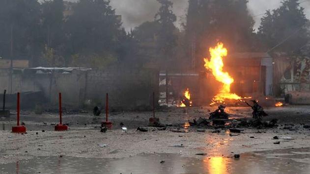 Barış Pınarı bölgesinde bombalı terör saldırısı