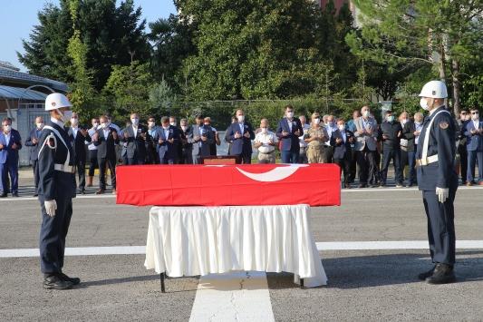 Selde şehit olan Onur Kıran için tören düzenlendi