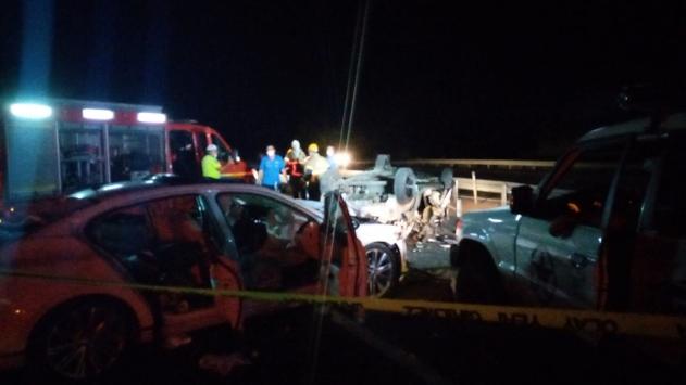 Bursada trafik kazası: 4 ölü, 6 yaralı