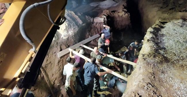 Su kanalı kazısında göçük: 2 kardeş hayatını kaybetti