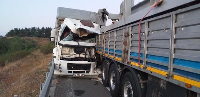 Boluda zincirleme trafik kazası: 1 yaralı