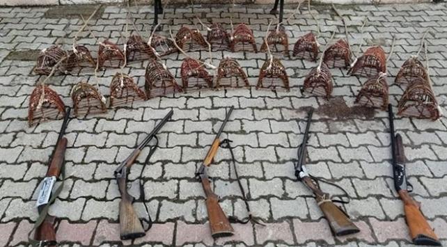 Sivasta kaçak bıldırcın avına 23 bin 757 lira ceza