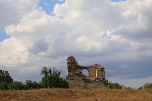 Edirne Sarayı Ören Yeri ziyarete açılmaya hazırlanıyor
