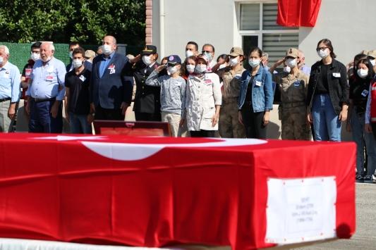 Giresundaki selde şehit olan Uzman Jandarma Erdem Çıtır için tören düzenlendi