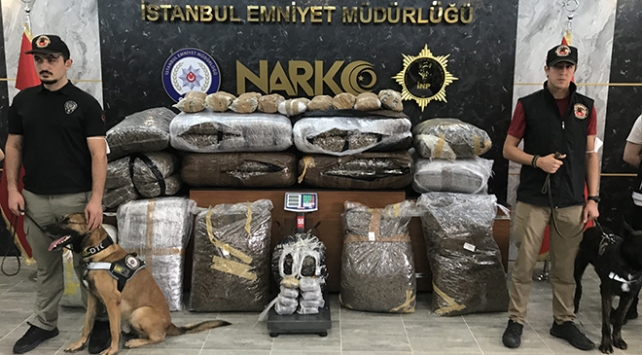İstanbulda narkotik operasyonu: 218 kilo uyuşturucu ele geçirildi