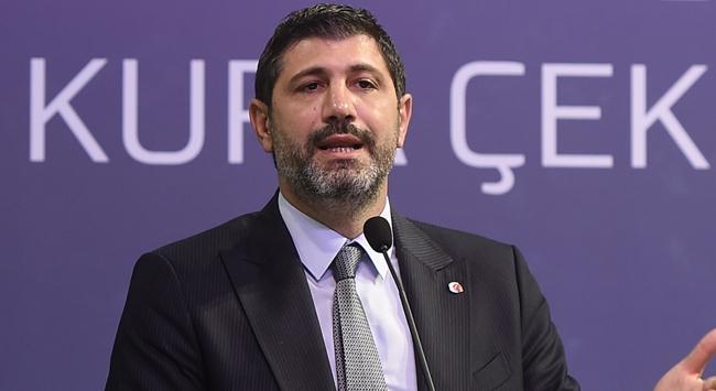 """TBF Üst Yöneticisi Ömer Onandan """"seyirci"""" açıklaması"""