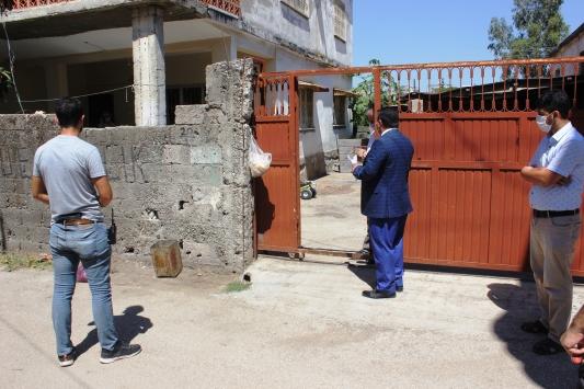 Osmaniyede karantinadaki vatandaşlar denetim ekiplerince kontrol ediliyor