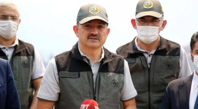 Bakan Pakdemirli: Adanadaki yangına 750 personelle müdahale ediyoruz