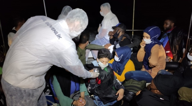 Muğla ve Bodrum açıklarında 51 sığınmacı kurtarıldı