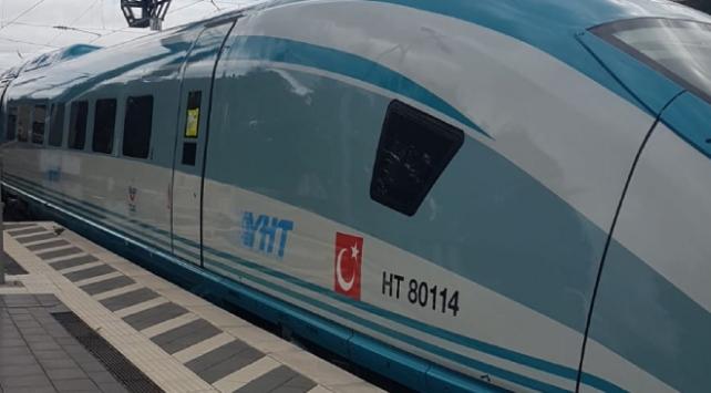 Almanyadan alınan YHT setleri Türkiyeye getiriliyor