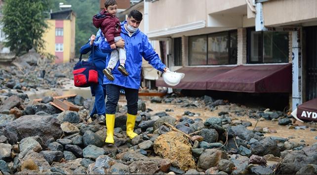 Giresun'daki sel mağdurları için 2,5 milyon TL kaynak aktarılacak