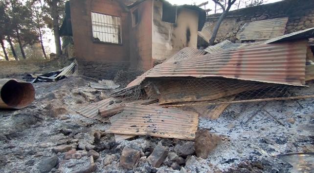 Kozan yangını mağdurları için 1 milyon TLlik destek