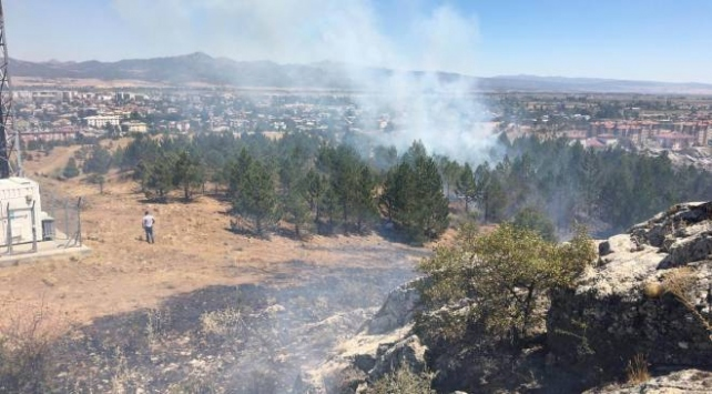 Konyada yangın: 2 hektar makilik alan zarar gördü