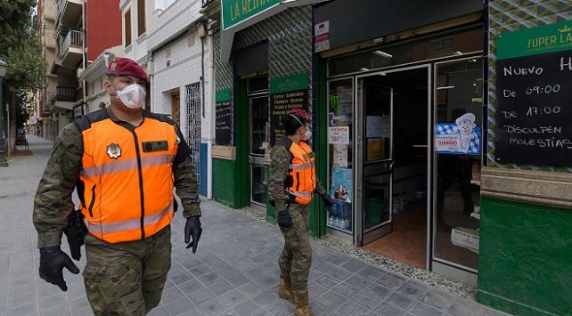 İspanyada COVID-19 ile mücadelede ordu görev alacak