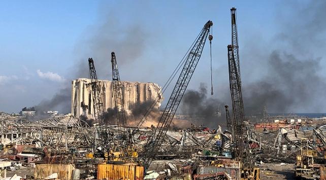 Beyrut Limanındaki tehlike oluşturan maddeler tahliye edildi