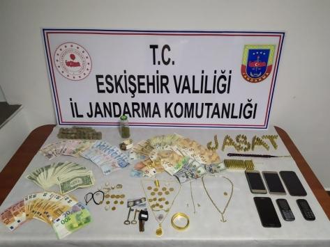 Eskişehirdeki hırsızlık operasyonunda 1 kişi tutuklandı