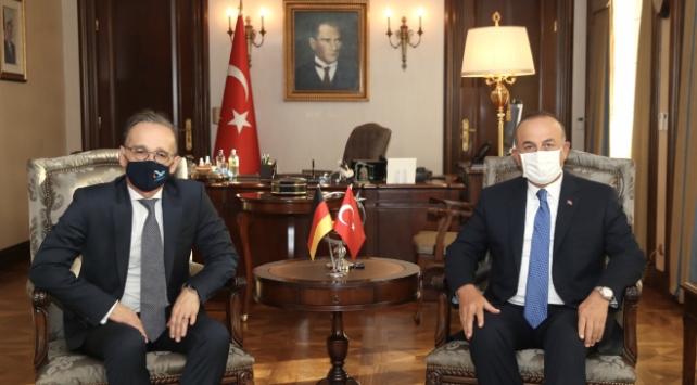Almanya Dışişleri Bakanı Maas Türkiyede