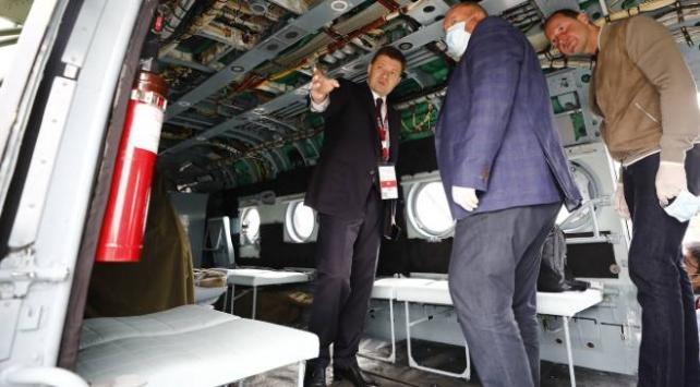 """Rusyadan """"ortak helikopter üretimine açığız"""" mesajı"""