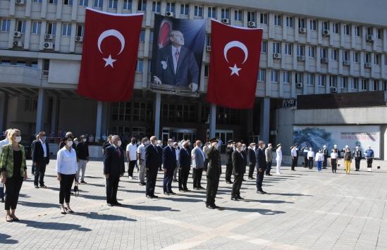 Atatürkün Zonguldaka gelişinin 89. yıl dönümü