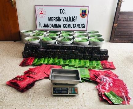 Mersinde 273 kilogram kaçak tütün ele geçirildi