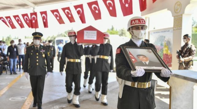 Libya şehidi Bilal Yılmaz için tören düzenlendi