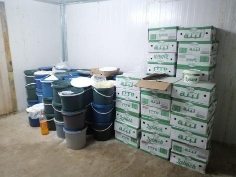 Denizlide tüketim tarihi geçmiş süt ürünlerini piyasaya sürdüğü iddia edilen kişi yakalandı