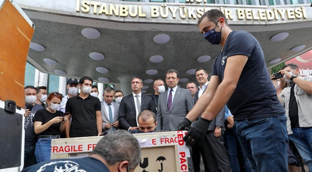 Fatih Sultan Mehmetin tablosu İstanbulda