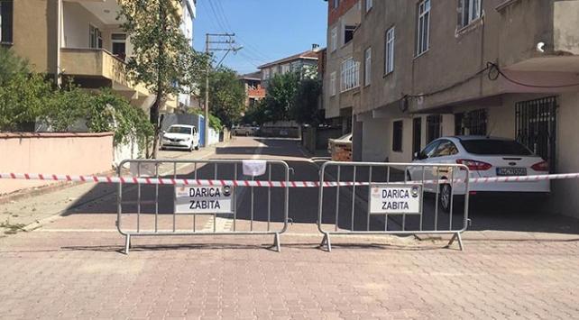 Darıcada 2 sokak karantinaya alındı