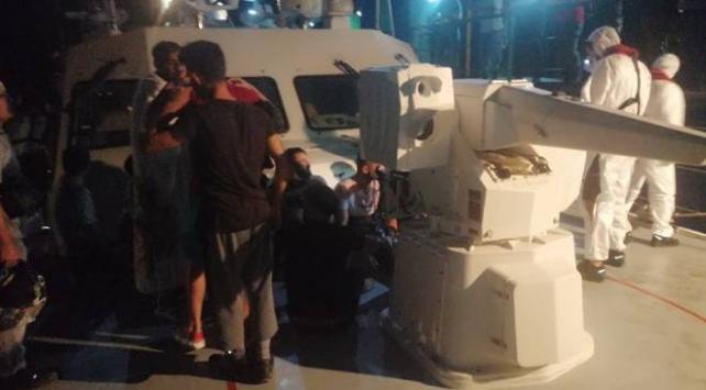 Datça açıklarında batan teknedeki 19 kişi kurtarıldı