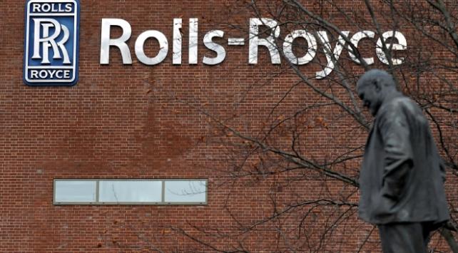 Rolls-Royce 5,4 milyar sterlin zarar etti