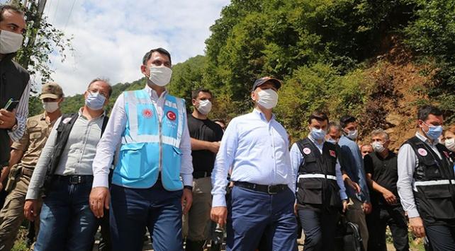Bakan Soylu: 917 personelimiz arama kurtarma çalışmalarına devam ediyor
