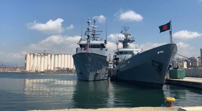 Türk Deniz Kuvvetlerinden Bangladeş Donanmasına yardım eli