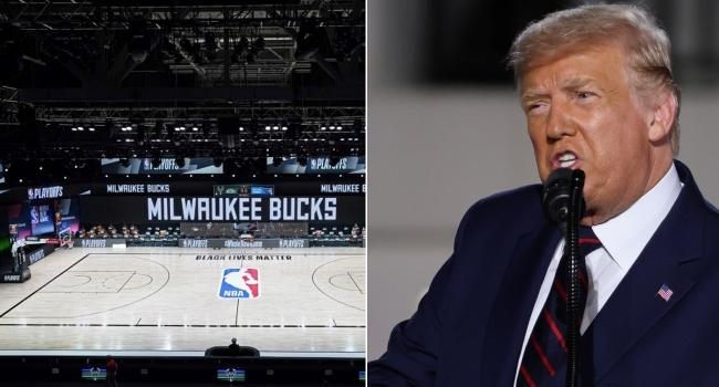 Trumptan NBAye boykot tepkisi