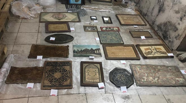 İstanbulda 1147 parça tarihi eser ele geçirildi