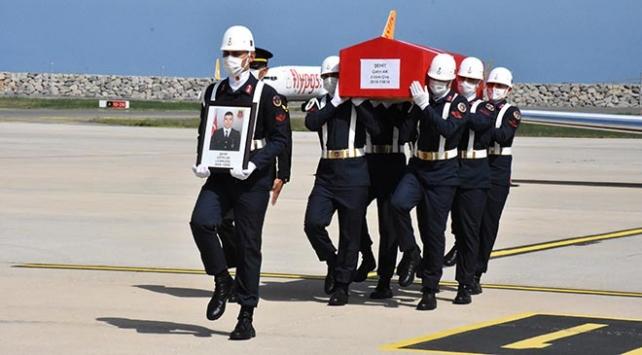 Şehit Akın cenazesi memleketi Orduya getirildi