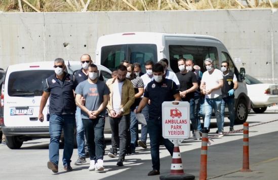 Eskişehirde silahlı saldırı olaylarıyla ilgili 13 şüpheli yakalandı