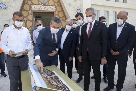 Adalet Bakanı Abdulhamit Gül, Gaziantepte incelemelerde bulundu