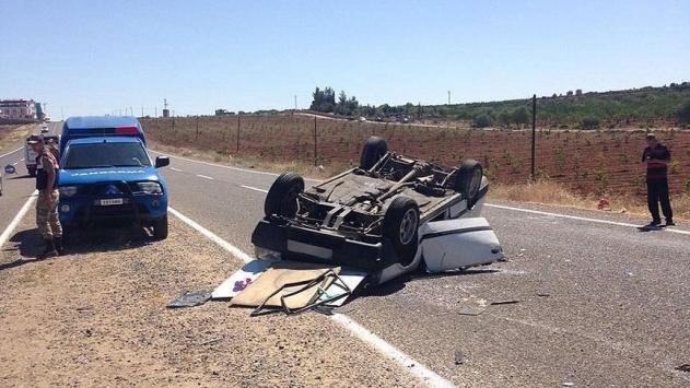 Gaziantepte trafik kazası: 4 yaralı