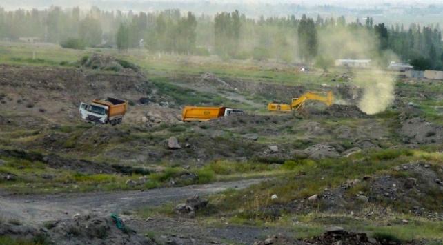 Iğdırda doğalgaz boru hattı patladı: 4 yaralı