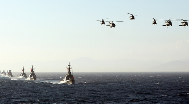 Doğu Akdenizde yeni Navtex ilanı: 11 Eylüle kadar atış eğitimi