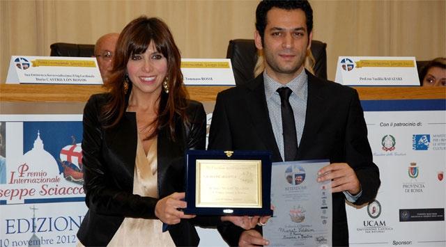 Türk Oyuncuya Vatikandan Ödül