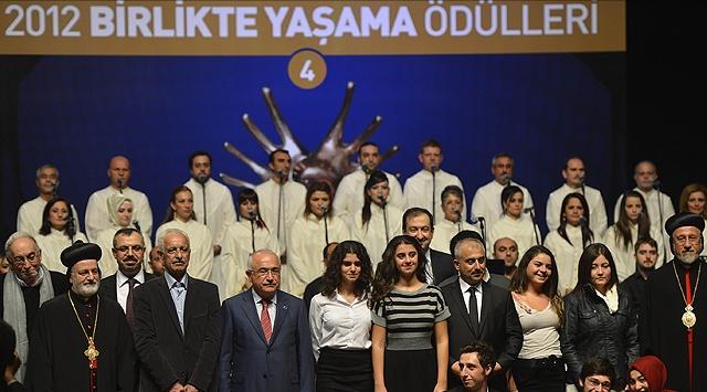 """""""Beraber Yaşama Ödülleri"""" Sahiplerini Buldu"""