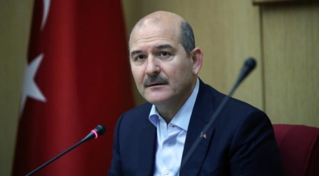 Bakan Soylu: Devletimiz emrinize amadedir