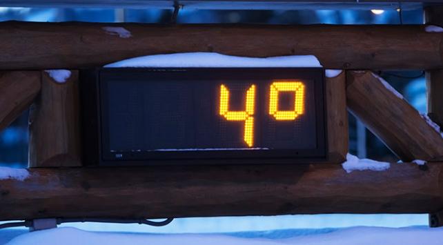 Ardahanda termometre gece 4 dereceyi gördü