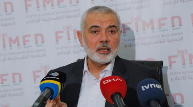 Hamas lideri Heniyye: Gazze ablukasının sona ermesi için temaslarımız sürüyor