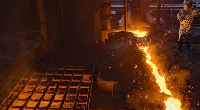 Ham çelik üretimi temmuzda arttı
