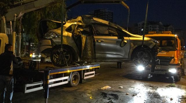 Kazada yaralanan arkadaşlarını olay yerinde bırakıp kaçtılar