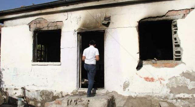 Kayseride müstakil evde yangın: 6 kişi yaralandı